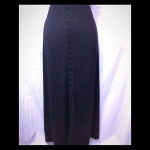 Women's size 1XL BRIGGS NEW YORK maxi skirt